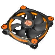Thermaltake CPUクーラー Riing 12 オレンジ CL-F038-PL12OR-A [CLF038PL12ORA]