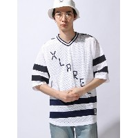 【SALE/60%OFF】XLARGE DIGITAL LOGO HOCKEY JERSEY エクストララージ カットソー【RBA_S】【RBA_E】【送料無料】
