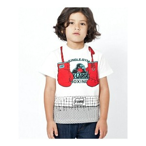 【SALE/40%OFF】XLARGE KIDS S/S TEE BOXING エックスガールステージス カットソー【RBA_S】【RBA_E】【送料無料】