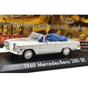 "GREENLIGHT HOLLYWOOD 1:43SCALE ""THE HANGOVER"" ""1969 MERCEDES-BENZ 280 SE"" (OPEN TOP) グリーンライト ハリウッド..."