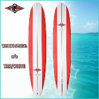 BEAR(ベアー) WAIKIKI SPECIAL TLPC 10'0 RED/WHITE サーフテック エポキシ ロングボード 【p10】 mpt10