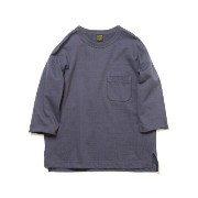 [cpa][c:0][b:3][s:0.96]A VONTADEアボンタージ3/4 Sleeve Sweat T-ShirtANTIQUE NAVY