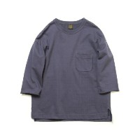 A VONTADEアボンタージ3/4 Sleeve Sweat T-ShirtANTIQUE NAVY