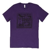 Ernie Ball T-shirt Medium Purple パワースリンキー Tシャツ