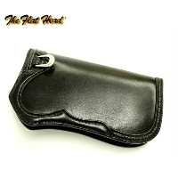 THE FLAT HEAD フラットヘッド STERLING SILVER(銀含有率92.5%) HAND SEWN LEATHER WALLET ウォレットFH-W014 BLACK