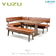 34%OFF [ダイニング4点] GREEN home style YUZU SOFA LD TABLE + LD CHAIR A + LD CHAIR B[L] + LD BENCH (グリーン ホ...