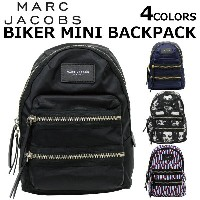 MARC JACOBS/マークジェイコブス BIKER MINI BACKPACKリュックサック/バックパック/カバン/鞄 カジュアル レディース プレゼント/ギフト/通勤/通学/送料無料