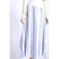 【SUMMER SALE】O'NEIL of DUBLIN(オニールオブダブリン) リネン100% Swing Skirt STRIPE/TARTAN #801 3color 2017'S/S...