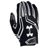 アンダーアーマー メンズ アメフト グローブ 手袋【Under Armour Swarm II Football Gloves】Midnight Navy/White/White