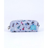 <THE SOUVENIR SHOP_ANNA SUI> 横長ポーチ(マリン)(80320009) グレー バッグ~~セカンドバッグ・ポーチ