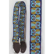 Souldier straps Owls Blue ギターストラップ