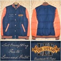 LEFLAH [レフラー] ジャケットLEFJK08-1407AW STADIUM DOWN JACKET