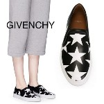 GIVENCHY SKATE STAR PRINTED LEATHER SNEAKERS スリッポン スニーカー GIVENCHY(ジバンシィ) バイマ BUYMA