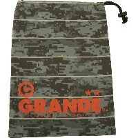 GRANDE(グランデ)フットサルケースDISITAL CAMO SHOES CASEGFPH15909GRY/RED