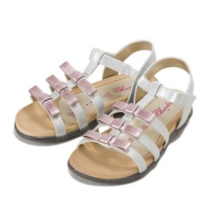 ジュニア 【CHARDAS】 チャルダス JR FOOTBED (XS-XL) CS-2514 16SM SLV/PNK