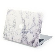 MacBook Air 13 ケース, GMYLE Hard Case Print Frosted MacBook Air 13 專用 - Marble Pattern ハードケースカバー (Macbook Pro 13 inch with Retina...