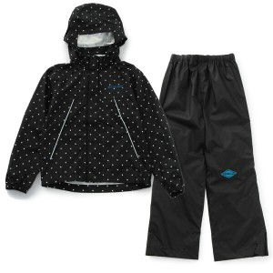 Columbia(コロンビア) Grass Valley Youth Patterned Rainsuit Kid's S 010(Black Dot) PY0005