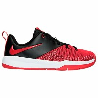 Nike Team Hustle D 7 Low Basketball Shoesキッズ/ジュニア Black/University Red/White NIKE ハッスル バスケットシューズ...