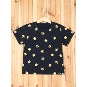 【SALE/40%OFF】X-girl Stages S/S TEE KIRAKY PRINT (4T~7T) エックスガールステージス カットソー【RBA_S】【RBA_E】【送料無料】
