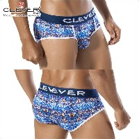 【CLEVER2016-1】 CLEVER クレバー ブリーフ メンズ Ref,5256 Paradise Brief ローライズボクサー 【男性下着 下着 ボクサー...