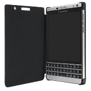 BlackBerry純正 Leather Flip BlackBerry Passport Silver Edition ACC-62023-001 レザーフリップケース [並行輸入品]