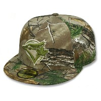NEW ERA TORONTO BLUE JAYS 【MLB TEAM-BASIC/REALTREE CAMO】 ニューエラ トロント ブルージェイズ 59FIFTY FITTED CAP フィッテッド...
