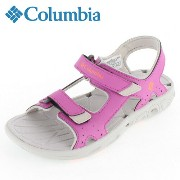 Columbia コロンビア YOUTH TECHSUN VENT ユーステックサンベント BY4566-665 Foxglove Coral Flame サンダル キッズ ジュニア