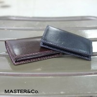 MASTER&Co.(マスターアンドコー) / UK Bridle Leather Card Case -BLACK-