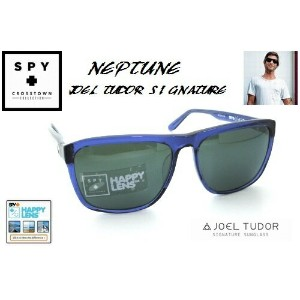 ★SPY★スパイ★CROSSTOWN★NEPTUNEXJOEL TUDOR★NAVY-HAPPY GREY GREEN/SILVER MIRROR★サングラス