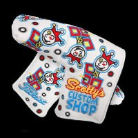 Scotty Cameron Jackpot Johnny White Headcover【ゴルフ アクセサリー>ヘッドカバー】
