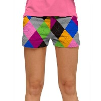 LoudMouth Ladies Pargyle Mini Shorts (#SS)【ゴルフ レディース>パンツ】