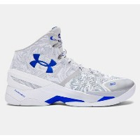"""Under Armour Curry 2 """"Wave""""メンズ Aluminum/Royal アンダーアーマー バッシュ カリー2 Stephen Curry ステフィン・カリー"""