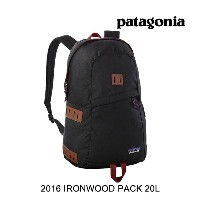 2016 PATAGONIA パタゴニア バックパック IRONWOOD PACK 20L BLK BLACK