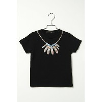 【VENCE share style キッズ】ネックレスプリント半袖T キッズ ボーイズ 男児 子供服 トップス カットソー Tシャツ ...