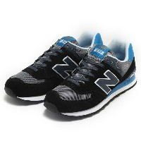 【NEW BALANCE】 ニューバランス ML574CPU 16FW ABC-MART限定 *BLACK/BL(CPU)