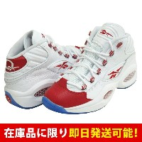 AI アレン・アイバーソン QUESTION MID リーボック/Reebok White/Pearlized Red