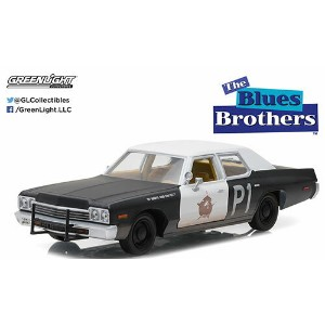 """1/24 Hollywood Series 1 - Blues Brothers (1980) - 1974 Dodge Monaco """"Bluesmobile""""[グリーンライト]《取り寄せ※暫定》"""