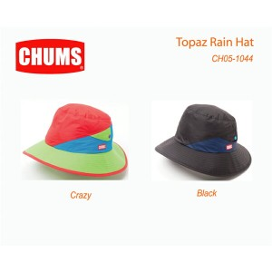 CHUMS チャムス 帽子 CH05-1044<Topaz Rain Hat トパズレインハット >※取り寄せ品