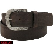REPLAY /リプレイ AM2263 Leather Belt / レザーベルト Chocolate Brown(チョコレートブラウン)