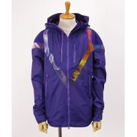Y-3(ワイスリー) ナイロンジップアップパーカー M TWIN Z BLOUSN [Y3-S16-0000-021][AP2366] CO.PURPLE