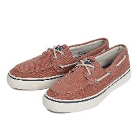 【SPERRY TOPSIDER】 スペリートップサイダー BAHAMA 2-EYE HEAVY CANVAS バハマ 2アイレット ヘビーキャンバス STS13132 RED
