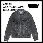 [20%OFF]Levi's skateboarding collection 【 SKATE TRUCKER 】リーバイス[23927-0002(S&E BLACK BATTERY)] 3rd...