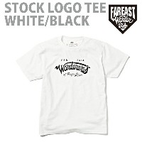 FEW-14AW-0511 STOCK LOGO T-SHIRTS WHITE/BLACK