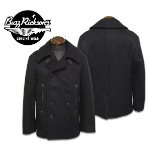 "【Buzz Rickson's バズリクソンズ】ジャケット(ピーコート)/BR12394 WILLIAM GIBSON COLLECTION ""TYPE BLACK PEA COAT""★送料..."