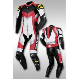 NXL102 GP-MAX R102 レーシングスーツ RACING SUITS (ホワイト/レッド) RSタイチ(RSTAICHI)