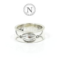 ノースワークス NORTH WORKS W-023 900Silver Stamp Ring