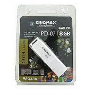 KINGMAX USBメモリ Kingmax (8GB・ホワイト) U-Drive PD-07 8GB[PD078GB]