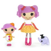 ララループシー ソフトドール Lalaloopsy Mini Littles Doll, Peanut Big Top/Squirt Lil Top