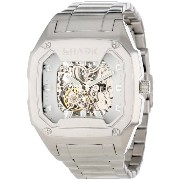 フリースタイル 腕時計 メンズ 時計 シャーク Freestyle Men's 101827 Killer Shark Automatic Silver Bracelet Analog Watch