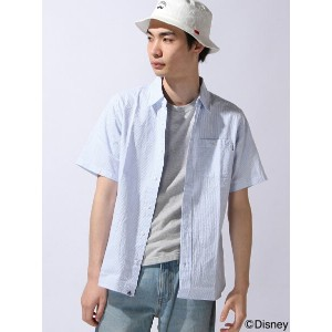 【SALE/50%OFF】XLARGE×Disney S/S DISNEY STRIPED SHIRT エクストララージ シャツ/ブラウス【RBA_S】【RBA_E】【送料無料】